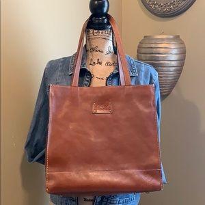 ✨👜✨Patricia Nash Large Leather Shopper Tote Bag✨